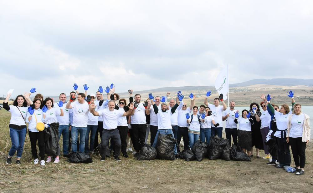 "September 20-""Clean up the World"" campaign has been launched in Georgia"